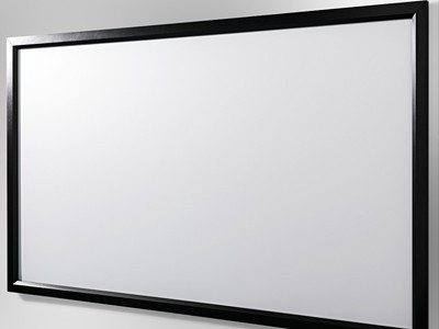 113″ 16:9 1.0 gain fixed frame projection screen
